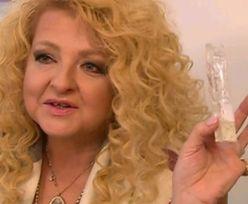"""Magda Gessler pokazuje... """"kondom z zawartością"""""""