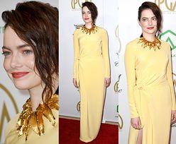 Emma Stone prezentuje nowy kolor włosów na rozdaniu nagród