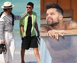 """Ricky Martin o roli kochanka Gianniego Versace: """"Cofnąłem się w czasie, kiedy SAM UKRYWAŁEM SWOJĄ ORIENTACJĘ"""""""