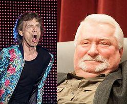 """Mick Jagger odpowiada Wałęsie! Po polsku: """"Jestem za stary, żeby być sędzią, ale na tyle młody, żeby śpiewać"""""""
