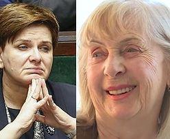 """Kiszczakowa ocenia Szydło: """"Bardzo aktywna, dzielna! To jest prawica, prawda?"""""""