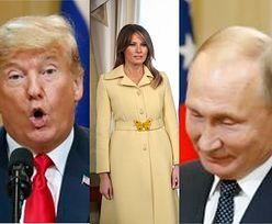 Trump spotkał się z Putinem: uściski rąk, wtargnięcie aktywisty i samotna Melania (FOTO)