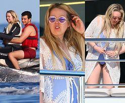 Naturalna Tiffany Trump pieści się z chłopakiem na pokładzie gigantycznego jachtu