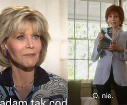 """80-letnia Jane Fonda: """"Seks nie jest niczym złym!"""""""