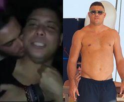 Kolega całuje pijanego Ronaldo... Piłkarz nagrał dziwny film
