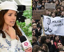 """Krupińska o Czarnym Proteście: """"Nie usunęłabym dziecka. NIE JESTEM ZA ABORCJĄ!"""""""