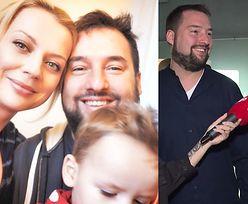 """Żona komplementuje Kuronia przed kamerami: """"Jest świetnym ojcem. Nasze dziecko jest z nim związane"""""""