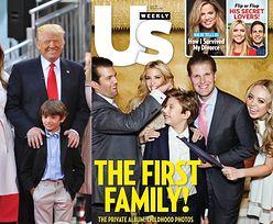 """Dzieci Trumpa na okładce """"Us Weekly"""": """"Pierwsza rodzina!"""" (FOTO)"""