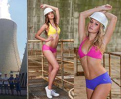 """Studentki walczyły o staż w państwowej elektrowni jądrowej w... BIKINI! """"Połączenie piękna i technologii daje ciekawy efekt"""""""