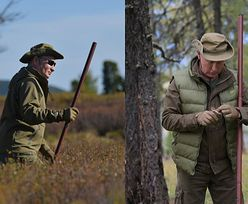 Wakacje Władimira Putina: leśne spacery i grzybobranie (FOTO)