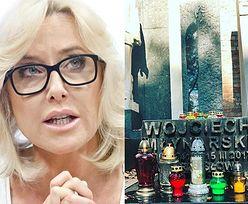 """Agata Młynarska zaprasza na grób ojca: """"Odwiedźcie go. Niech grób taty zabłyśnie tysiącem świateł"""""""