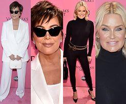 Yolanda Hadid i Kris Jenner kibicują córkom na pokazie Victoria's Secret