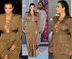 Co się stało z brzuchem Kim Kardashian? (ZDJĘCIA)