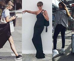 Worek na plecy zamiast plecaka – 5 stylizacji