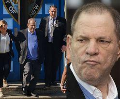 Weinstein miał na sobie TRZY PARY KAJDANEK! Jedna nie objęła jego nadgarstków...