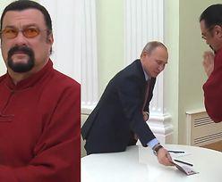 Steven Seagal został oficjalnie obywatelem Rosji (WIDEO)