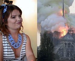"""Marta Manowska o pożarze w Notre-Dame: """"Może to czas, żeby Francja wróciła do Kościoła"""""""