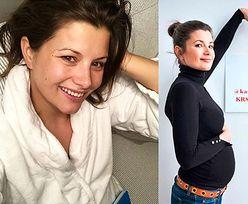 """Agnieszka Sienkiewicz zapewnia na Instagramie: """"Nie będzie tu zdjęć z pięknie rosnącym """"brzuszkiem"""""""""""
