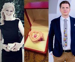 """Filip Chajzer zaręczył się? """"Może i z plastiku, ale najważniejsze, że od serca"""""""