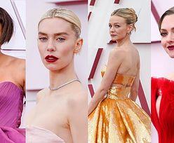 Oscary 2021: NAJLEPSZE kreacje gwiazd na gali: Carey Mulligan, Vanessa Kirby, Amanda Seyfried (ZDJĘCIA)