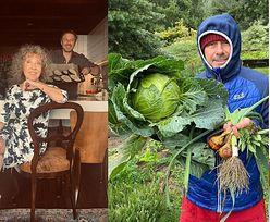 Tak mieszka Andrzej Piaseczny: różowy dom, ogród warzywny i panele słoneczne (ZDJĘCIA)