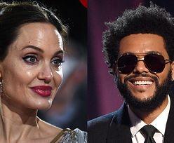 Angelina Jolie i The Weeknd podsycają plotki o ROMANSIE, bawiąc się na prywatnym koncercie