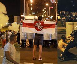 Protesty i zamieszki po wyborach prezydenckich na Białorusi. Milicja użyła siły przeciw demonstrantom (ZDJĘCIA)