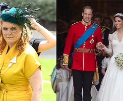 """Rozgoryczona Sarah Ferguson wspomina, jak nie dostała zaproszenia na ślub Williama i Kate: """"Nie byłam tego GODNA"""""""