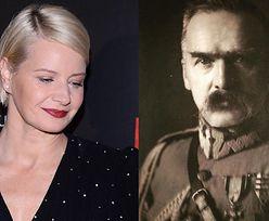"""Zatroskana Małgorzata Kożuchowska cytuje Piłsudskiego: """"Wzywam was do SPOKOJU, jaki powinien panować w narodzie"""""""