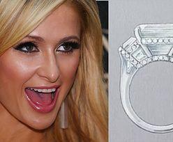 """Pierścionek zaręczynowy Paris Hilton kosztował PONAD 2 MILIONY dolarów?! """"To arcydzieło designu"""""""