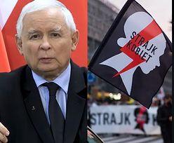 """Kaczyński wystąpił ze znakiem Polski Walczącej. Powstańcy: """"Nie ma do tego ŻADNEGO prawa"""""""