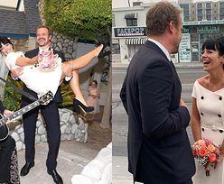 """Lily Allen wzięła ślub z Davidem Harbourem z serialu """"Stranger Things""""! Ceremonię poprowadził """"Elvis Presley"""" (ZDJĘCIA)"""