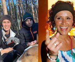 """Krzysztof Ibisz """"zdobywa odporność"""" w lesie z byłą żoną i synem. Monika Mrozowska: """"To jest ekstra!"""""""