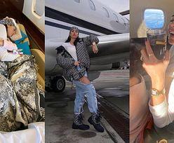 Georgina Rodriguez obnosi się LUKSUSOWYM ŻYCIEM na zdjęciach z pokładu odrzutowca Cristiano Ronaldo