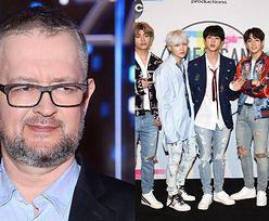 """Prowadzący """"W tyle wizji"""" drwią z wyglądu członków BTS: """"Enerdowscy lodziarze, tylko skośni"""""""