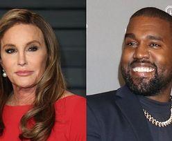 """Wylewna Caitlyn Jenner rozpływa się nad Kanye Westem: """"MA WIELKIE SERCE. Jest dobrym człowiekiem"""""""