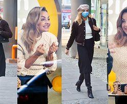"""Małgorzata Socha prezentuje """"paryski szyk"""" w bejsbolówce Celine za 8 tysięcy i z torebką Chanel za 20 tysięcy. Ikona stylu? (ZDJĘCIA)"""