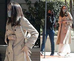 Angelina Jolie w asyście rosłego ochroniarza robi zakupy z Zaharą (ZDJĘCIA)