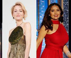 """Złote Globy 2021: elegancka Renee Zellweger, skromna Margot Robbie, wiecznie młoda Jane Fonda, """"ognista"""" Salma Hayek... (ZDJĘCIA)"""