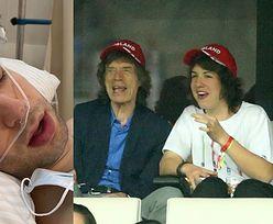 21-letni syn Micka Jaggera pokazał na Instagramie OPERACJĘ UCHA (ZDJĘCIA)