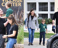 Troskliwi Ben Affleck i Jennifer Garner odbierają 8-letniego synka z przyjęcia. Wrócą do siebie? (ZDJĘCIA)