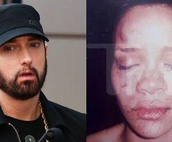 """Eminem kaja się przed Rihanną za aferę z Chrisem Brownem: """"Z CAŁEGO SERCA PRZEPRASZAM"""""""