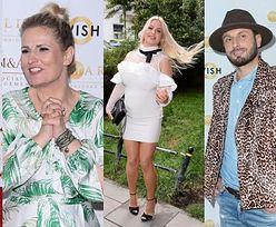 """Drugoligowi celebryci lansują się na ściance po raz pierwszy od czasu kwarantanny: Dominika Tajner, Paula Tumala, Marietta z """"Hotelu Paradise"""" (ZDJĘCIA)"""