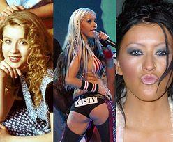 Christina Aguilera kończy 40 LAT! Trudno uwierzyć, że kiedyś TAK WYGLĄDAŁA (STARE ZDJĘCIA)