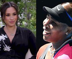 """Serena Williams wspiera Meghan Markle po wywiadzie u Oprah: """"Każdego dnia uczę się od niej, CZYM JEST SZLACHETNOŚĆ"""""""