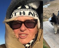 Ewa Kasprzyk nabiera sił po COVIDZIE, wdychając górskie powietrze w Zakopanem (ZDJĘCIA)