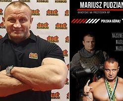 """Mariusz Pudzianowski """"kandyduje"""" na prezydenta: """"Najsilniejsza armia i najsilniejsze rządy!"""" (FOTO)"""