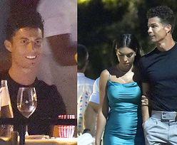Cristiano Ronaldo maszeruje na romantyczną kolację z Georginą Rodriguez i jej torebką za 720 tysięcy (ZDJĘCIA)
