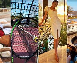 Palmy, basen i kort tenisowy: tak wygląda PAŁAC, w którym mieszka ukochana miliardera Józefa Wojciechowskiego! (ZDJĘCIA)
