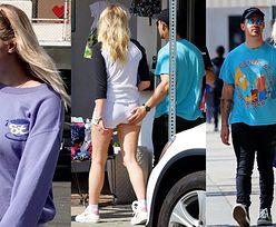 Joe Jonas umila sobie spacer, łapiąc uśmiechniętą Sophie Turner za pośladki (ZDJĘCIA)